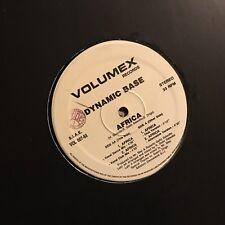 DYNAMIC BASE • Africa • Vinile 12 Mix • VOLUMEX RECORDS