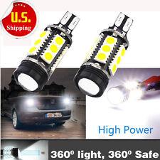 2X Bright 7W Xenon White 921 T15 912 LED Backup Reverse Bulbs Light Lamp HS