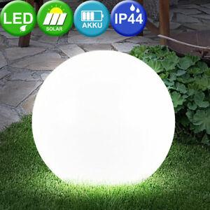 LED SOLAR-Leuchte Aussen-Leuchte Gartenleuchte 30 cm Haus Hof Lampe Licht KUGEL