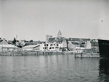 CAEN c.1950 - Le Bassin St Pierre et l'Abbaye aux Dames  Calvados - Div 10064