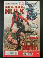 ⭐️ RED SHE-HULK #59a (2013 Marvel Comics) VF/NM Book