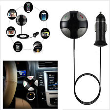 Car MP3 Bluetooth FM Transmitter Hands Free Kit Radio USB Charger For iPhone S6