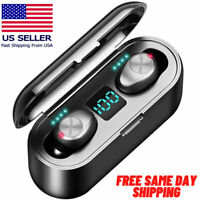 NEW Bluetooth Earbuds Iphone Samsung Android Wireless Earphone IPX7 WaterProof