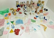 Vintage Epoch Calico Critters Sylvanian Families BIG HOUSE 28 Critters & MORE