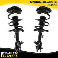 Front Quick Complete Struts & Coil Springs w/ Mounts for 2004-2009 Nissan Quest