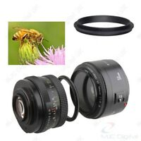 Male to Male Lens Ring 52mm-58mm 52 to 58 Macro Reverse Ring Adapters