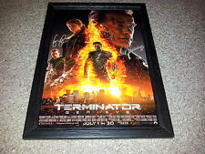 "TERMINATOR 5 : GENISYS PP SIGNED & FRAMED 12""X8"" A4 PHOTO POSTER ARNIE"