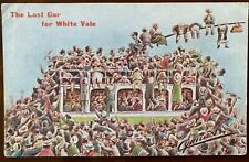 More details for the last car to white vale glasgow scotland postcard trams cynicus