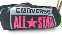 CONVERSE Sports Bag LEGACY BARREL DUFFEL Black Crimson All Star Shoulder Bag