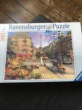 Ravensburger 500 Piece Jigsaw Puzzle AN EVENING WALK IN PARIS New Sealed