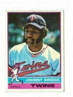 1976 Topps Baseball - Johnny Briggs #373 - Set Break!