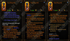 Diablo 3 RoS XBOX ONE [SOFTCORE] - New 2.6 - 100% Immortal Ring - Check Image!