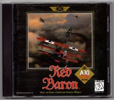 RED BARON A-10 TANK KILLER PC CD DOS WIN W/INSTRUCTION - Free USA Shipping!