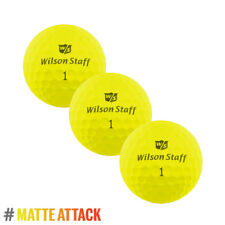 Wilson Staff DX2 Optix 2018 bas de compression Soft Matte Jaune 3x boule manche