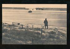 WW1 Zeebruge Belgium The Breach in the viaduct PPC