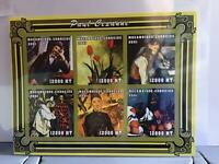 Mozambique 2001 Paul Cezanne Paintings  MNH imperf  stamp  sheet R24535