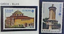 2 X Timbre Stamp Grèce Ellas Greece 1978 YT 1286 1287 Europa CEPT neufs