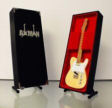 Telecaster - Cream: Miniature Guitar Replica (UK Seller)