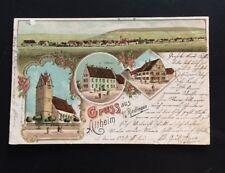 Postkarte Gruss aus Altheim / Riedlingen  1898 !