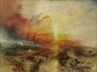 The Slave Ship Painting by Joseph Mallord William Turner Art Reproduction