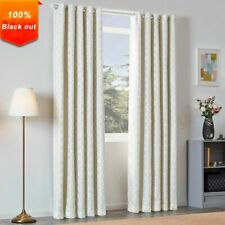 Black Out Modern Window Curtains Lining High Blinds Drapes Living Room Geometric
