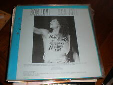 Bon Jovi 3 LP SET Superstar Radio Network UK PROMO
