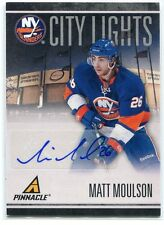 2010-11 Pinnacle City Lights Signatures 95 Matt Moulson Auto 16/100