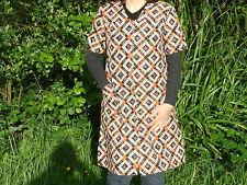 blouse nylon  nylon kittel nylon overall N° 1819  T42