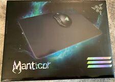 Razer Manticor Elite Aluminum Gaming Mouse Pad Non Slip Rubber Base with case