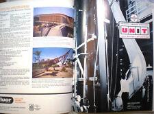 Vtg UNIT Glue Laminated Wood Structures RETRO Catalog Arches Beams Timber 1963