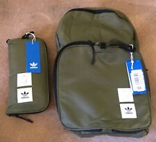 NEW Adidas Unisex Packable Backpack Khaki School College Camping Sports LTD ED