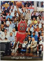 MJ Promo: 1995 95 Upper Deck Michael Jordan (Chicago Bulls instead of Bulls) #23