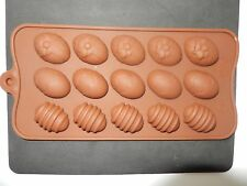 Easter Egg Shape Silicone Mould Cake Chocolate Ice icing Baking Modeling Tools
