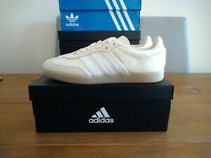 Adidas Velosamba SPD Cycling Shoes Cream White Size 10 UK BNIBWT