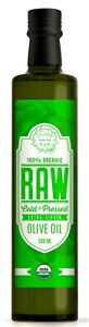 POLYPHENOL RICH. RAW Extra Virgin Olive Oil ORGANIC, UNFILTERED . Dr Gundry