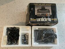 New listing Vintage Uniden Rd7 Radar Detector.With Vehicle Power Adaptor,and Clip.