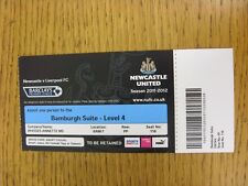 01/04/2012 Ticket: Newcastle United v Liverpool [Hospitality] (Complete). This i