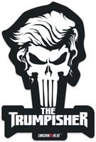 ORIGINAL Trumpisher™ Bumper Sticker 100% US MADE! Trump Punisher, Trump 2020