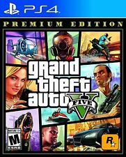 Grand Theft Auto V Premium Edition Gta 5 Ps4 PlayStation 4, New Factory Sealed
