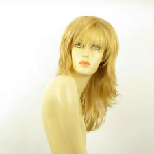 Perruque femme mi-longue blond clair doré NINON LG26