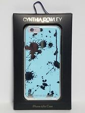 CYNTHIA ROWLEY iPhone 6 / 6s Case Baby Blue with Silver Color Splatter