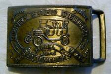 Vintage Ford Model T Record Year Henry Ford Detroit Belt Buckle 2020340010