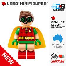 LEGO® Minifigure™ - Robin - Green Glasses, Smile / Scared Pattern [DC Comics]