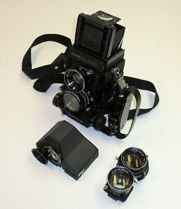 Mamiya C330 Camera Kit, 80mm f/2.8 & 65mm f/3.5 Lenses *Everything!*