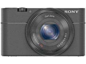 Cámara Sony DSC-RX100, Sensor CMOS, Apertura f/1.8, Lente Zeiss, Full HD, 20Mp