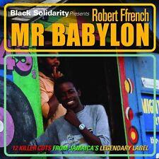 Robert Ffrench - Black Solidarity Presents Mr Babylon  NEW CD £9.99