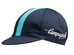 NEW Campagnolo Classic Cycling Cap Blue  - Ideal Cyclist Gift - Made in Italy