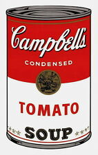 Campbell's Soup-Tomato (Sunday B. Morning), Silkscreen, Andy Warhol