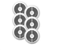 New Enrock 3 Pairs of 6.5'' Waterproof Stereo White Marine 720w Speaker System