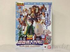Bandai Chogokin TOY STORY Woody Robo Sheriff Star w/1st ED Bonus Action Figure